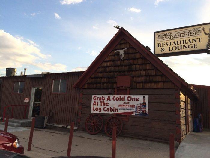 The Log Cabin Restaurant & Lounge - 1205 M St, Gering, NE 69341
