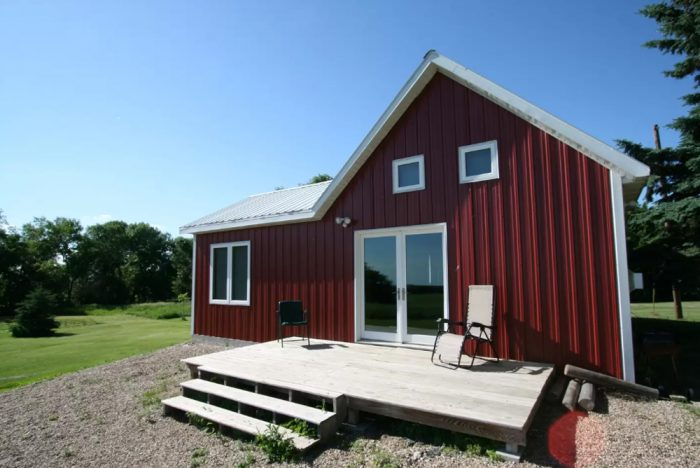 3. The cabin in Maddock, ND