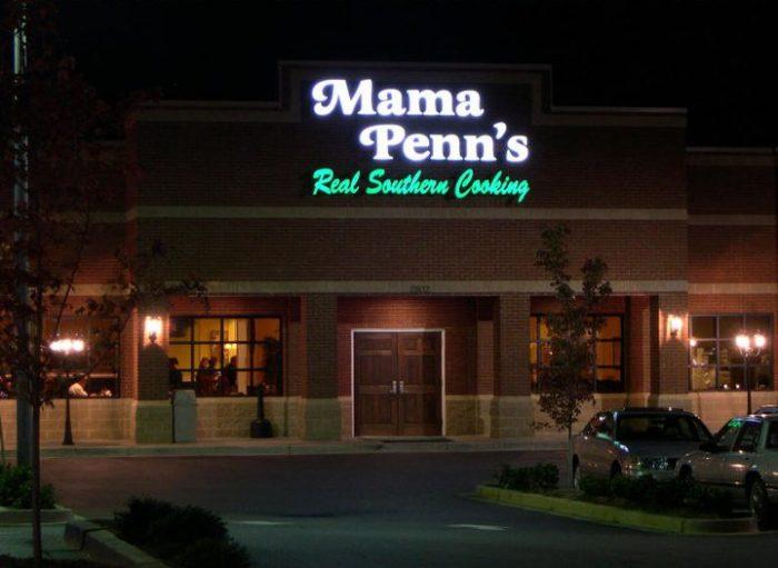 Mama Penn S Restaurant Anderson Sc