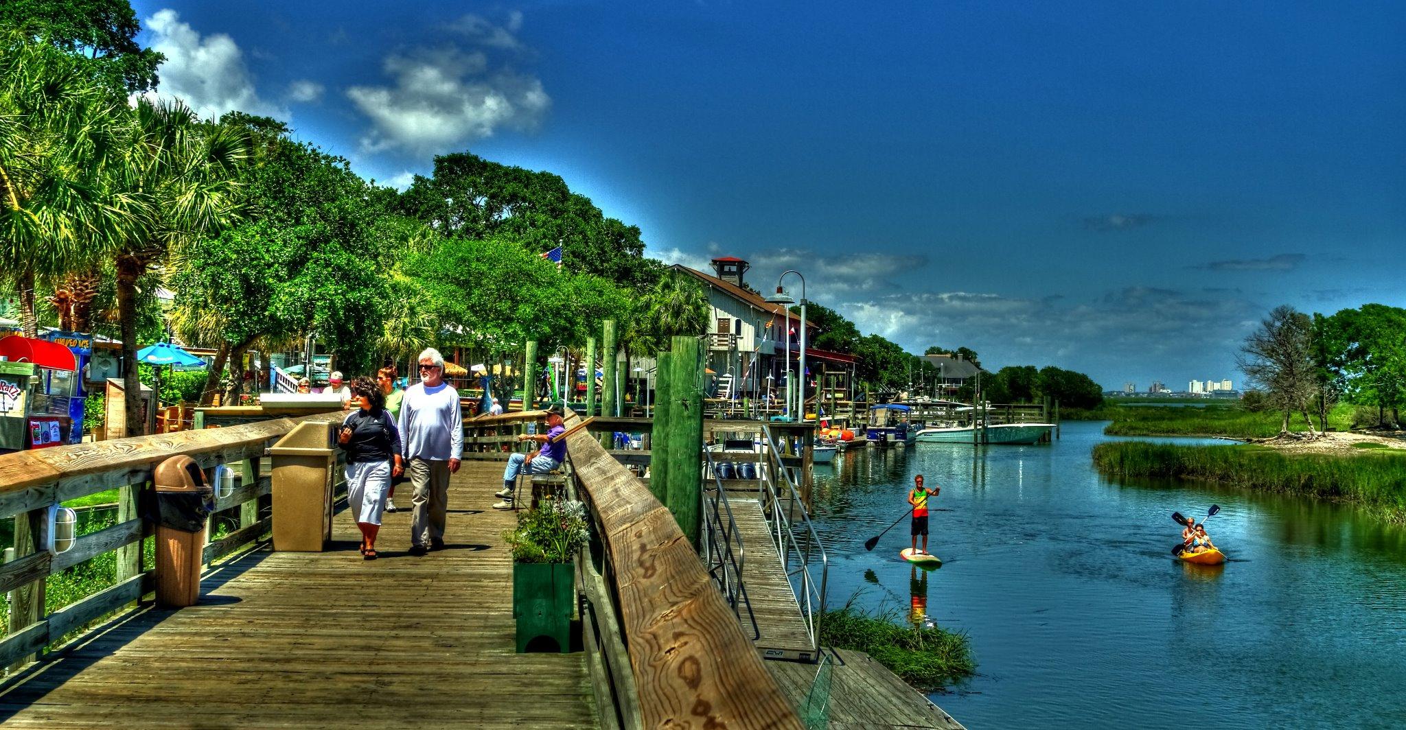 10 Fabulous Boardwalks In South Carolina