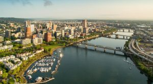 What This Drone Footage Caught In Portland Will Drop Your Jaw