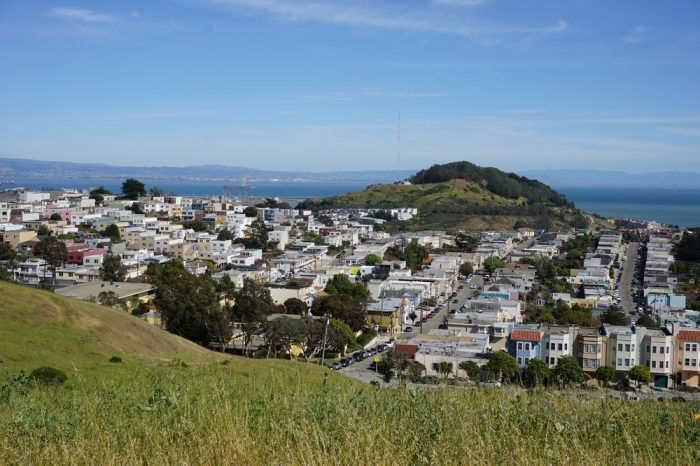 1. It has some of the best views in the city, of downtown, the Bay, Mount Diablo, Mount Tamalpais, Angel Island, and the Pacific.