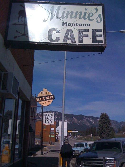 1. Minnie's Montana Cafe, Thompson Falls