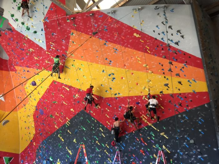 9. Support each other (literally) on an indoor rock climbing adventure at Mission Cliffs, Planet Granite, or Dogpatch Boulders.