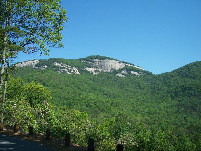 7. Conquer a South Carolina mountain.