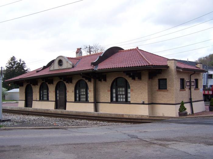 Philippi B & O Railroad Station, Philippi