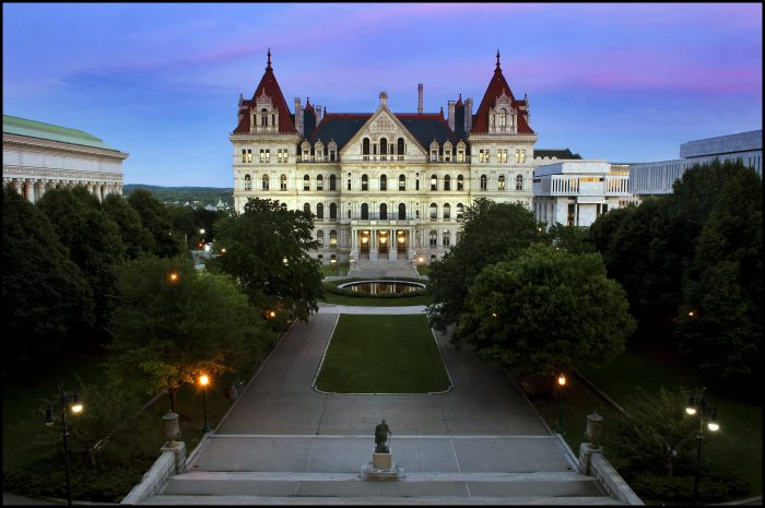 1. New York State Capitol Tour, Albany