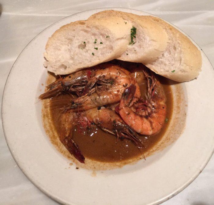 6) BBQ Shrimp @ Mr. B's Bistro, 201 Royal St.