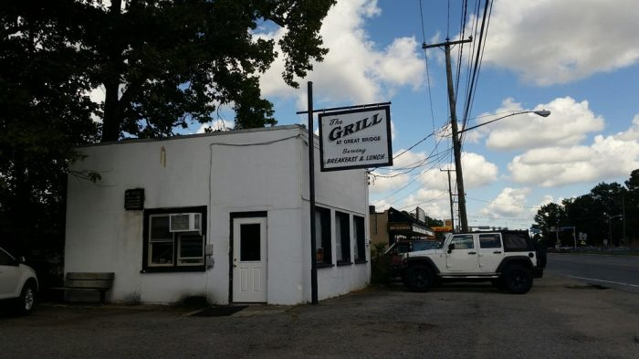 7. The Grill at Great Bridge (Chesapeake)
