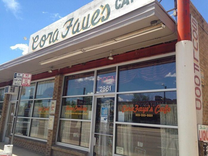 5. CoraFaye's Cafe, 16251 E. Colfax Ave., #210 (Moving from Colorado Blvd. this month)