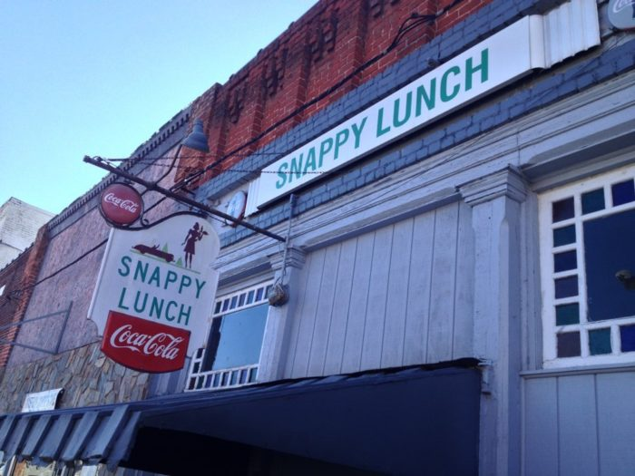 6. Snappy Lunch, Mount Airy