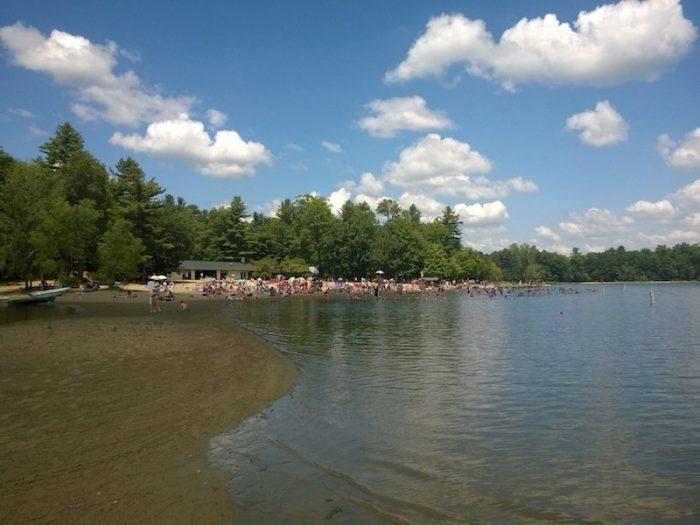 7. Moreau Lake State Park