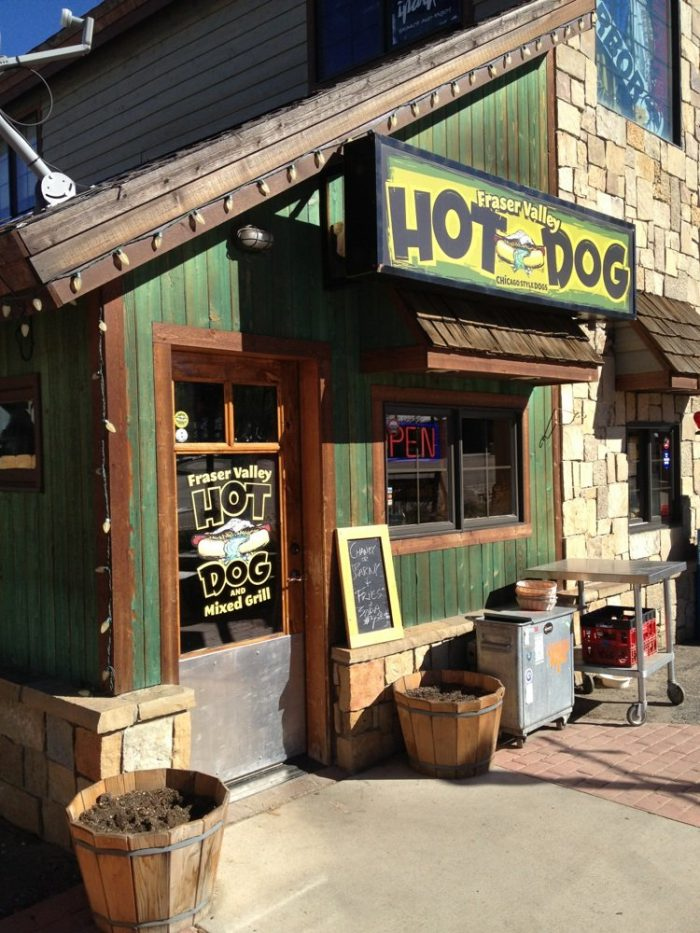 2. Fraser Valley Hot Dog (Winter Park)