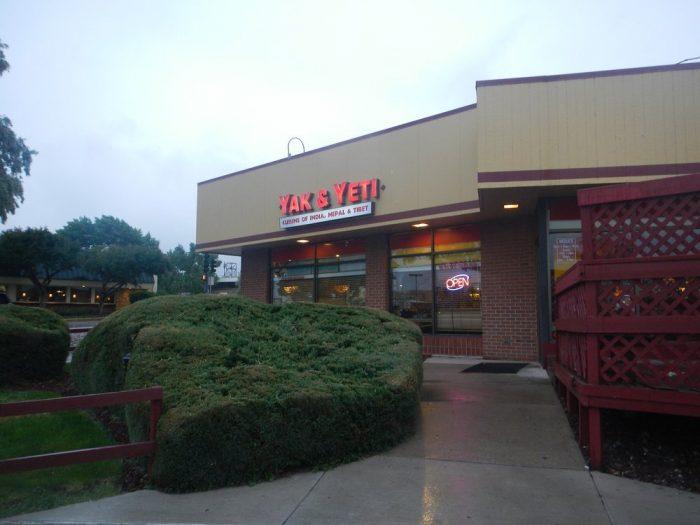 10. Yak & Yeti, 9755 East Hampden Ave., 8665 N. Sheridan Blvd., & 7803 Ralston Road