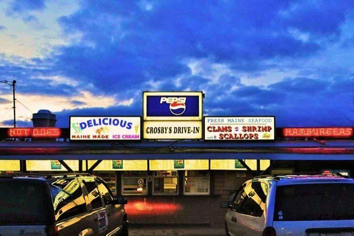 9. Crosby's Drive-In, Bucksport