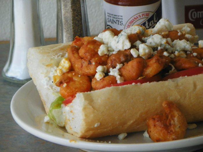 5) Buffalo Shrimp Po-Boy @ Avery's, 2510 Tulane Ave.