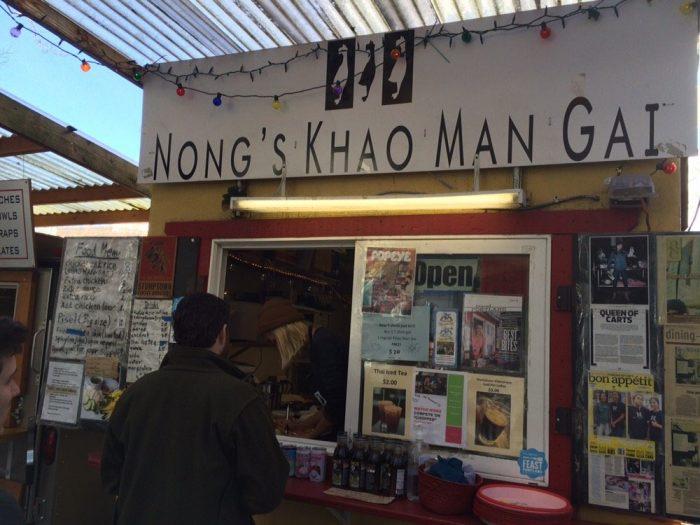 1. Nong's Khao Man Gai - SW Portland