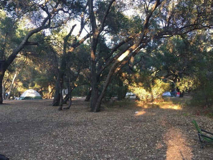 5. Los Prietos Campground -- Santa Barbara