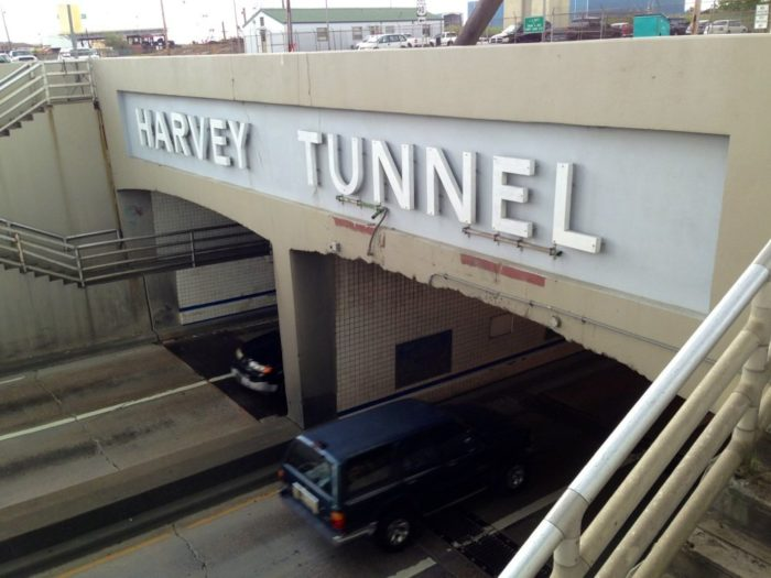 """The Harvey Tunnel is in """"fair"""" condition, signaling that there will probably be a tunnel there for years to come."""