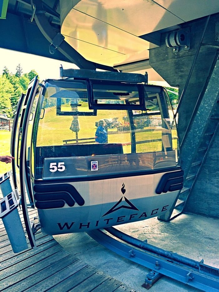 The ride can fit up to 8 people and generally lasts about 15 minutes each way.