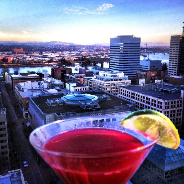 4. Enjoy a cocktail on a rooftop.