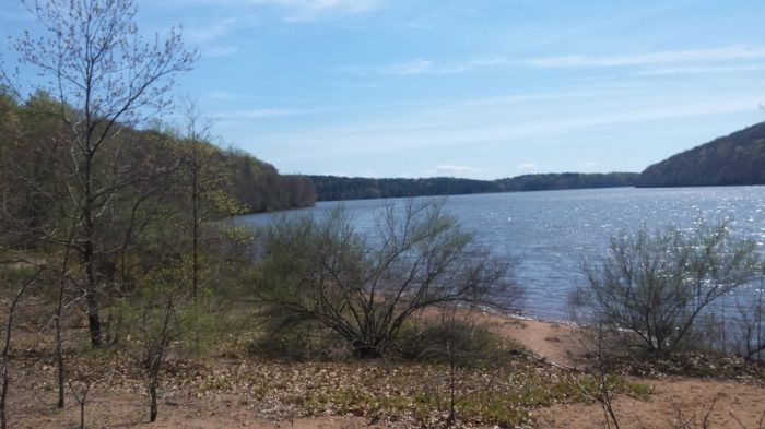 3. Lake Saltonstall is a recreation area that fisherman will love.