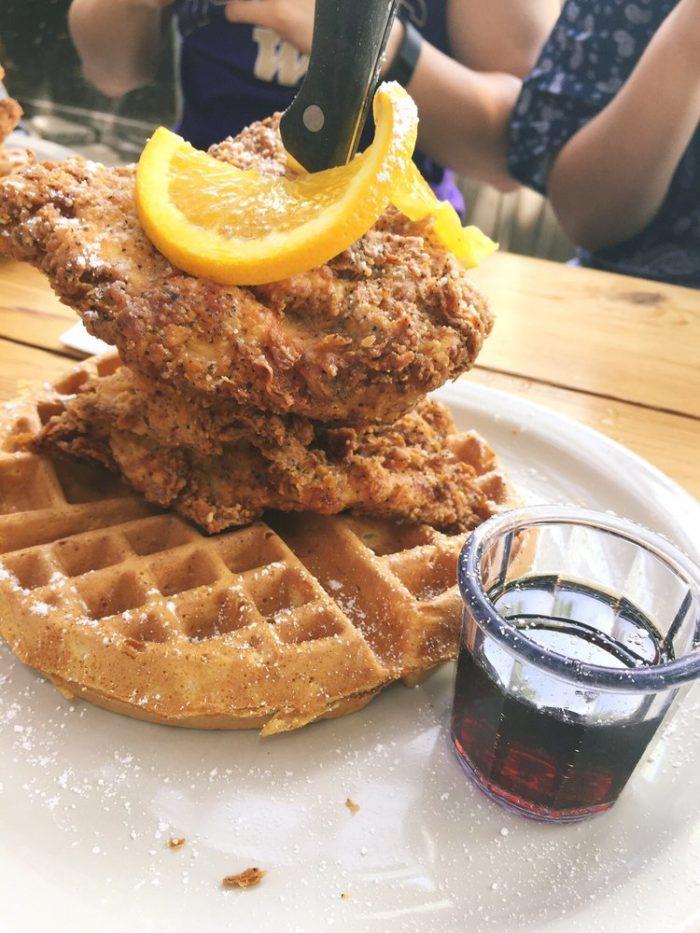 11. Chicken & Waffles from Screen Door