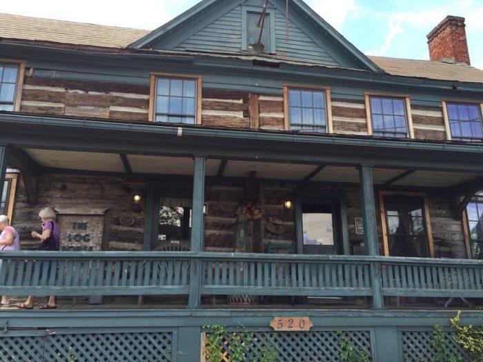 11. Log House 1776 Restaurant (Wytheville)