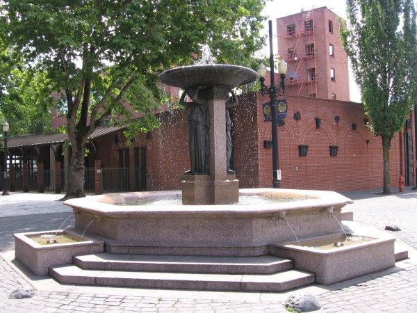 5. Portland Fountains
