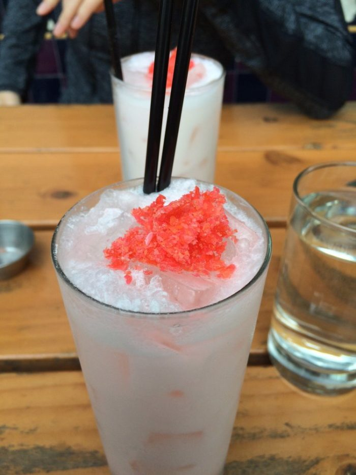 7. The Most Popular Drink at Sapphire Hotel