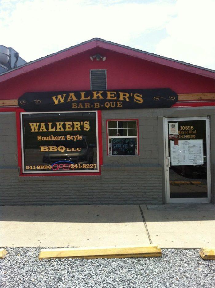 5) Walker's Southern Style BBQ, 10828 Hayne Blvd