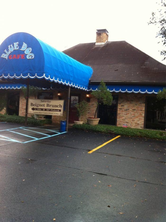 11. Crab Au Gratin from Blue Dog Café, 1211 W Pinhook Rd, Lafayette