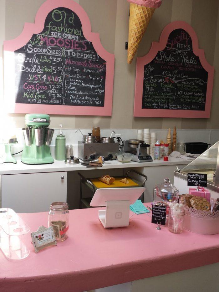 6. Moosie's Ice Cream -- San Diego