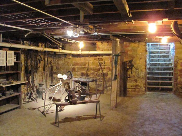 ellinwood kansass underground world    visit