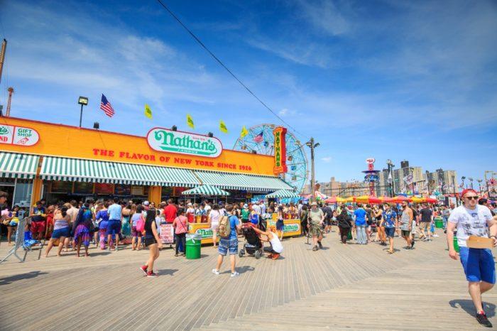 2. Coney Island Beach and Boardwalk, Brooklyn
