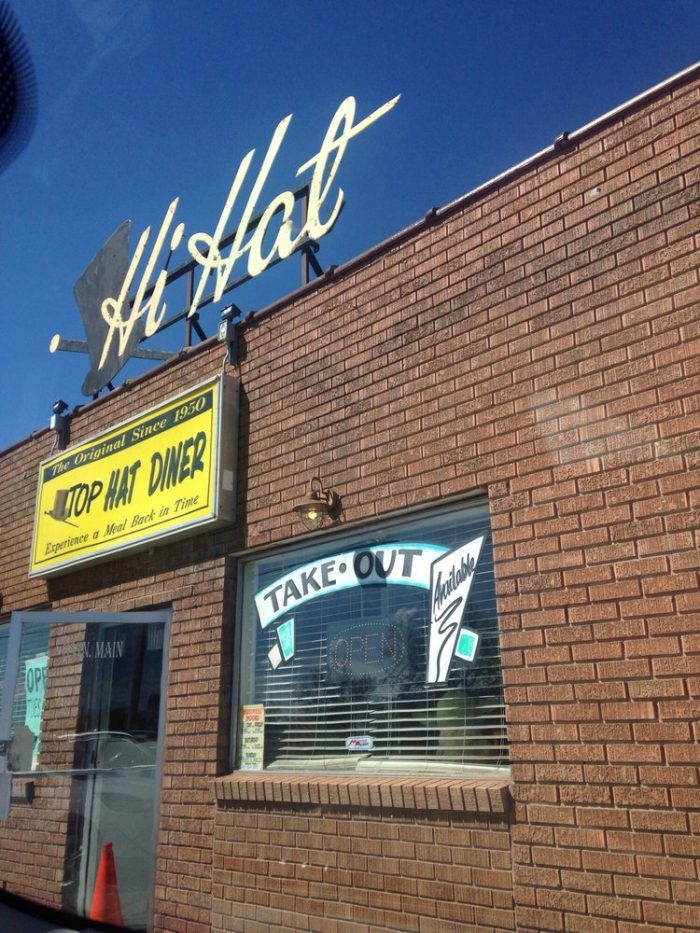 12. Top Hat Diner, Sunset