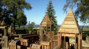 6 Amazing Playgrounds In Michigan That Will Make You Feel Like A Kid Again