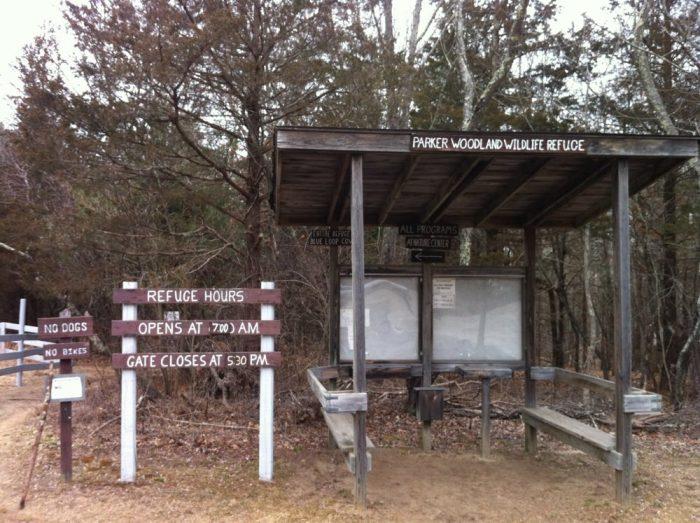 1. George B. Parker Woodland Wildlife Refuge, Coventry