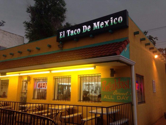 3.. Smothered Burrito at El Taco De Mexico