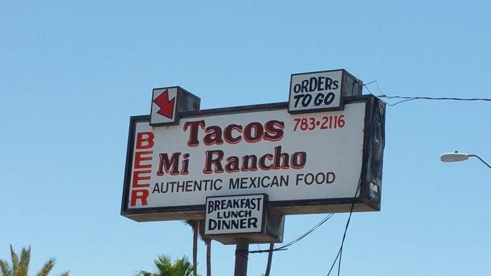 13. Tacos Mi Rancho, Yuma