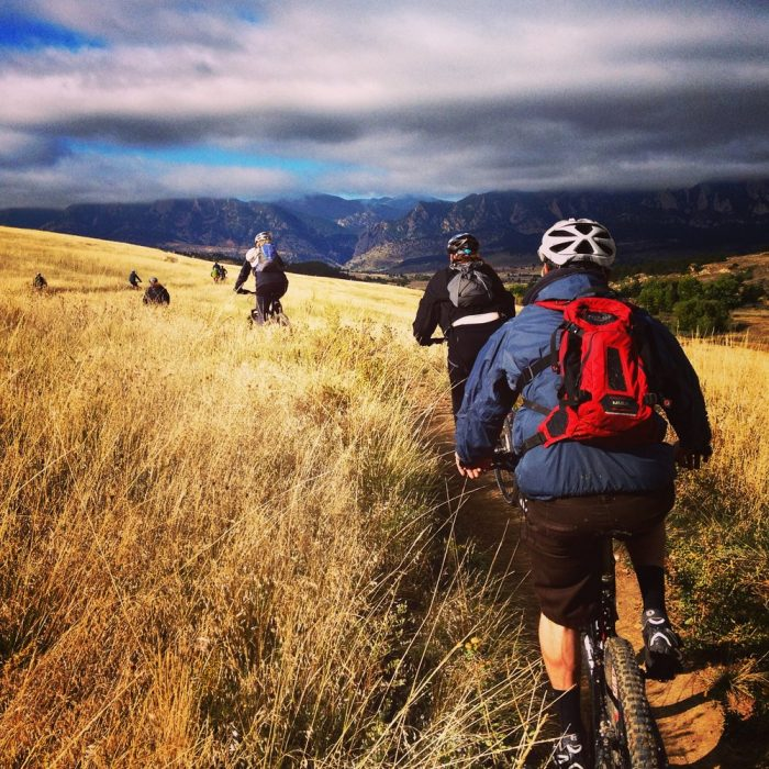 6. Mountain Bike with Front Range Ride Guides