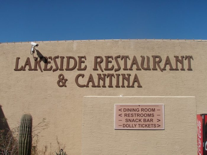 5. Lakeside Restaurant & Cantina, Apache Junction