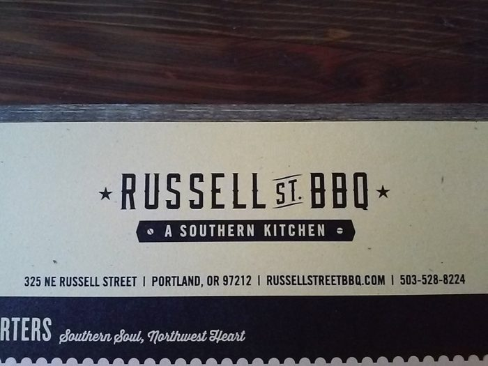4. Russell Street BBQ
