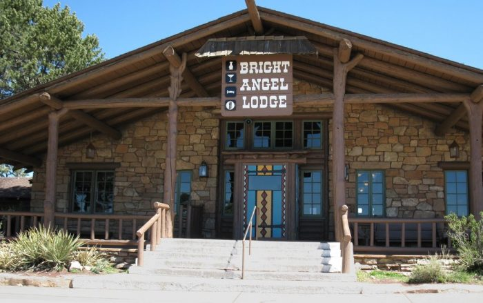 2. Bright Angel Lodge, Grand Canyon