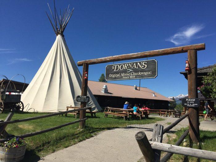 2. Dornans/Moose Chuckwagon
