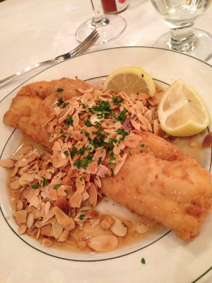 3) Fish Amandine @ Galatoires, 209 Bourbon St.