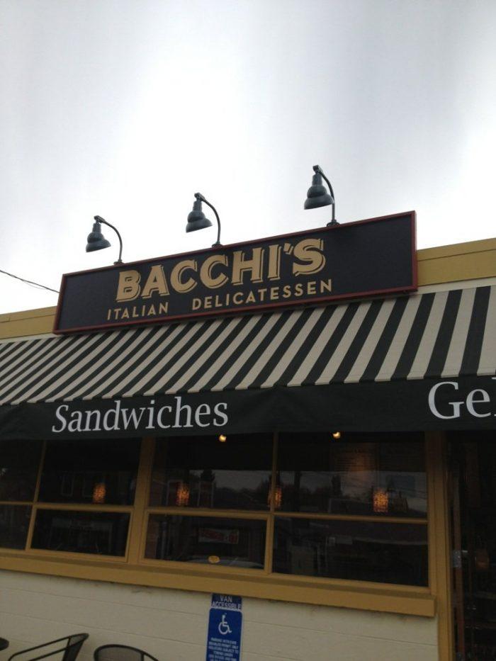7. Bacchi's Italian Delicatessen