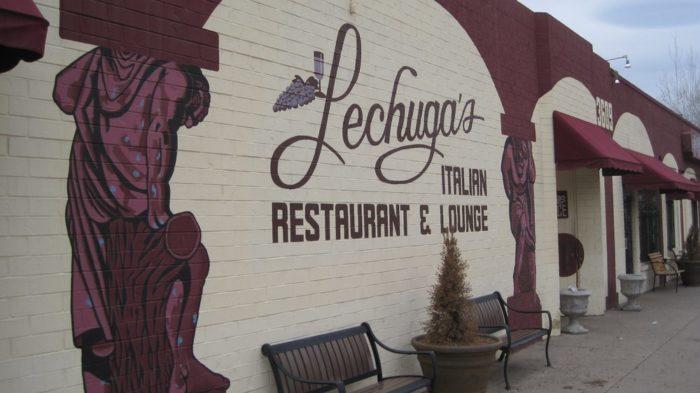 8. Lechuga's Italian Restaurant, 3609 Tejon Street