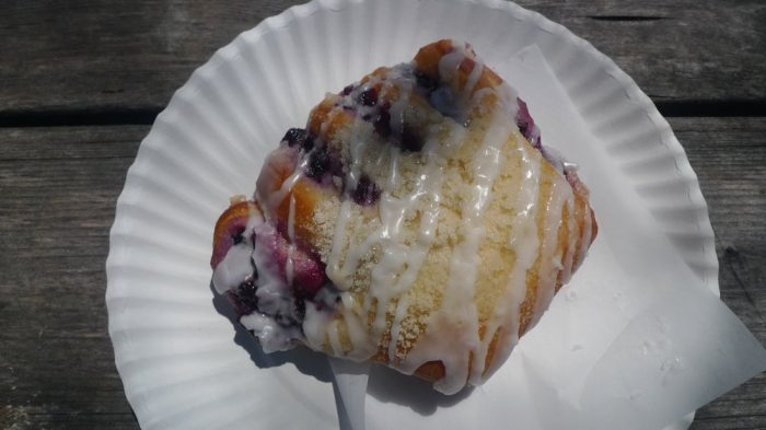 2. While we're at it, a pastry from the Polebridge Mercantile.