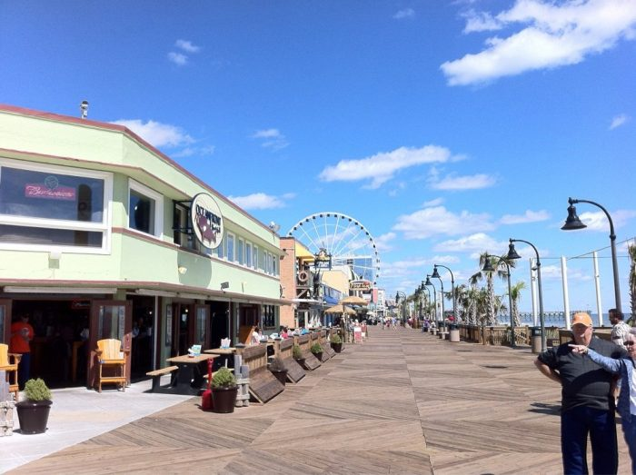 Beachfront Restaurants Myrtle Beach Sc
